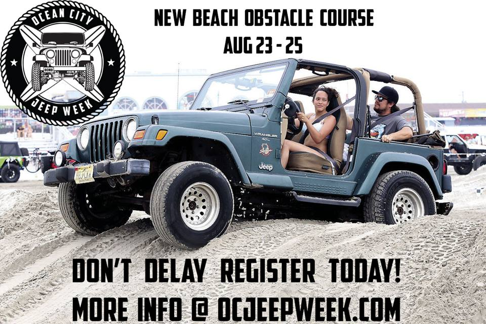 Ocean City Jeep Week >> Ocean City Jeep Week Added An Obstacle Course For This Year