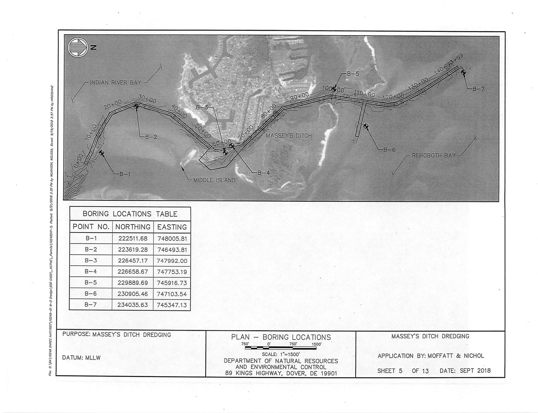 Army corp of engineers, masseys ditch, delaware, long neck, pot nets bayside, seaside, inland bays, indian river bay, rehoboth bay, lynch thicket island, big ditch, bakers channel, middle island, ey's Ditch Federal Navigation Channel from Rehoboth Bay to the Indian River Bay, masseys landing, the peninsula, long neck road, stat boat ramp, bay channel, dredging project,