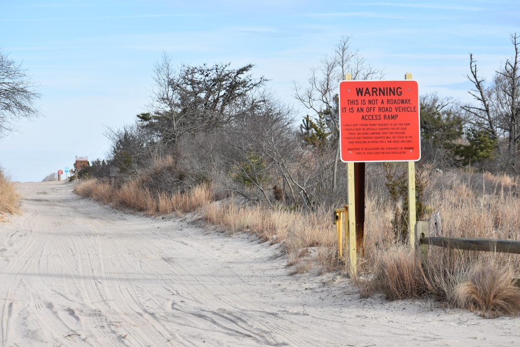 cape henlopen state park, orv permits, warning signs, drive on beaches, gordons pond, naval crossing
