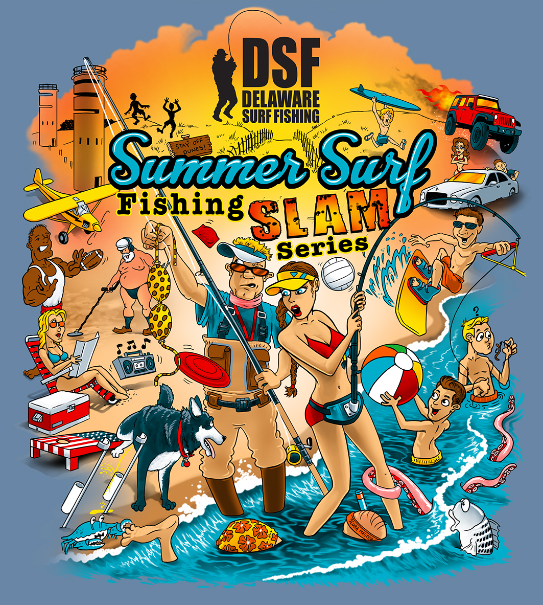 Summer Surf Fishing Slam Series
