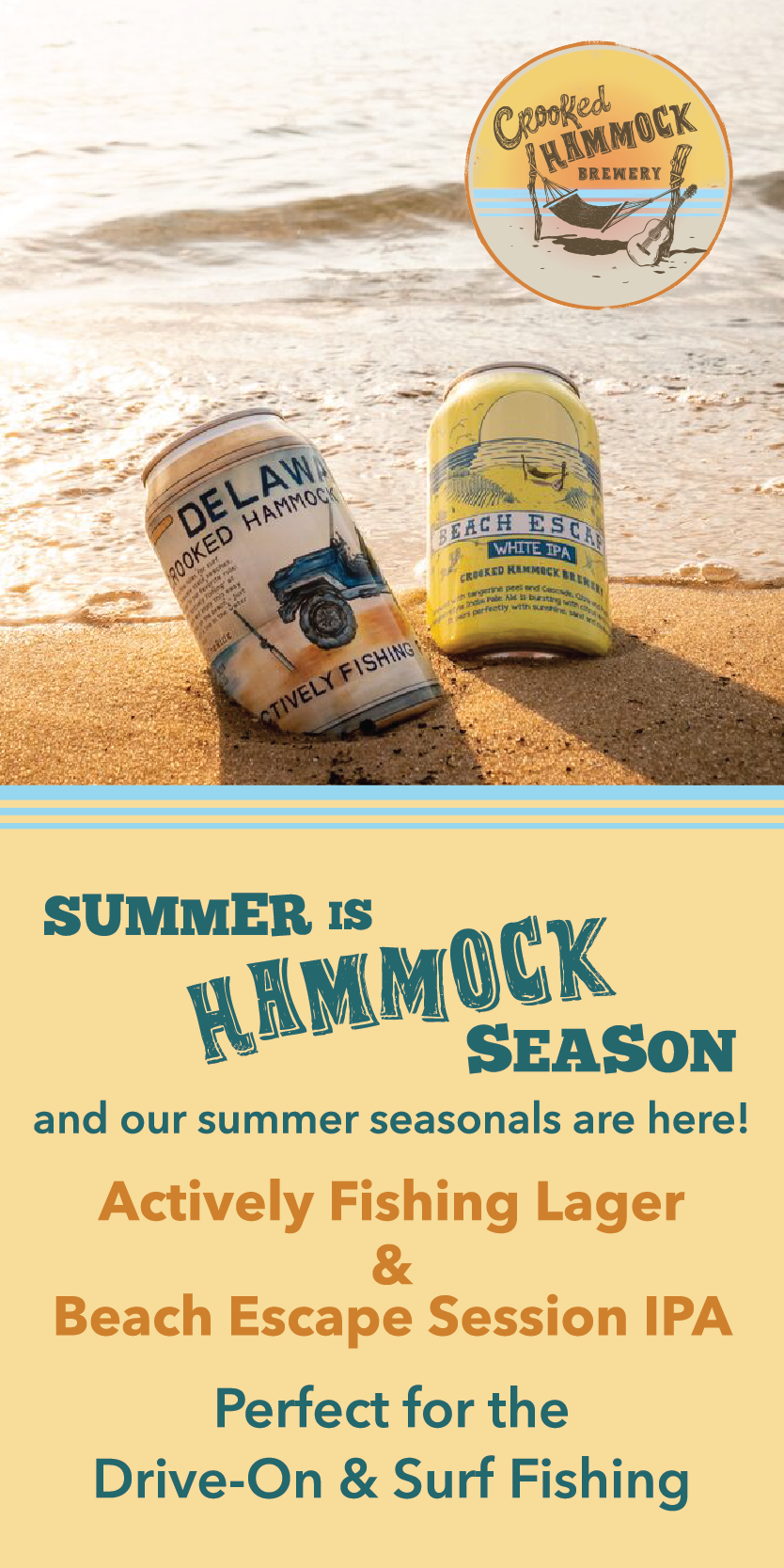 Crooked Hammock Brewery side ad