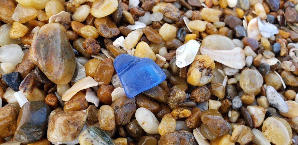 sea glass, cape henlopen state park, beach combing