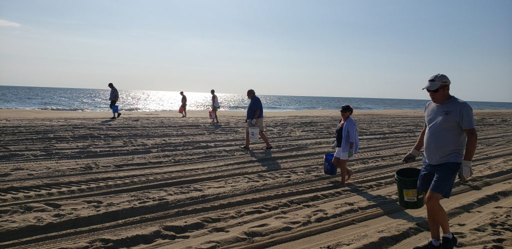 beach clean ups, delaware, sussex county, the point, cape henlopen state park, coastal clean up